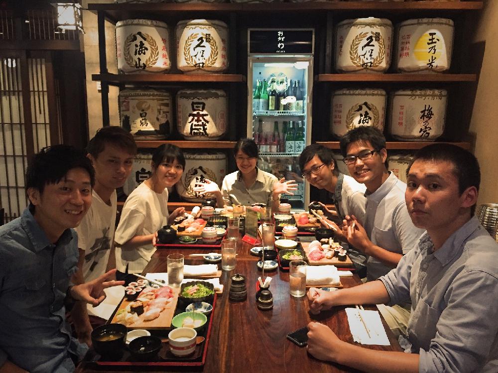 インターン 日本食
