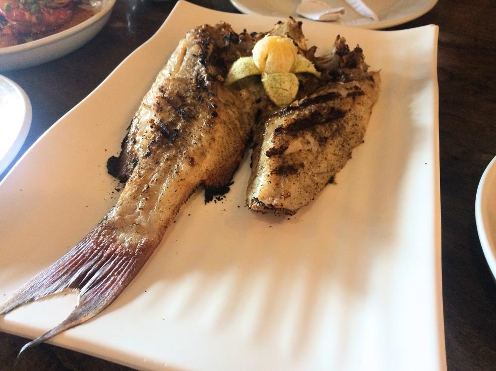 日本人オーナーのシーフードレストランで食べたラプラプ!絶品だったので是非!